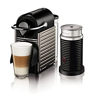 Nespresso オートタイプ PIXIE(ピクシー)バンドルセット チタン C60TI-A3B