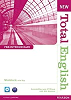 New Total English Pre-Intermediate Workbook with Answer Key and Audio CD