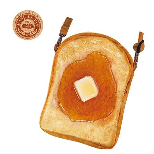 まるでパンみたいな ショルダーポーチ2 (メイプルバター)