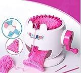 Milkee 毛糸編み機・織り機 あむあむ ポンポン くるっと あみゅあみゅ