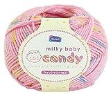 オリムパス製絲 毛糸 milkey baby candy ミルキーベビー キャンディ 40g 約112m Col.208 6玉セット
