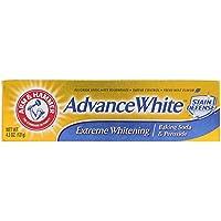 アーム&ハマー Arm&Hammer アドバンスホワイト 歯磨き粉 オーラルケア エクストリウムホワイトニング Baking Soda 121g [並行輸入品]