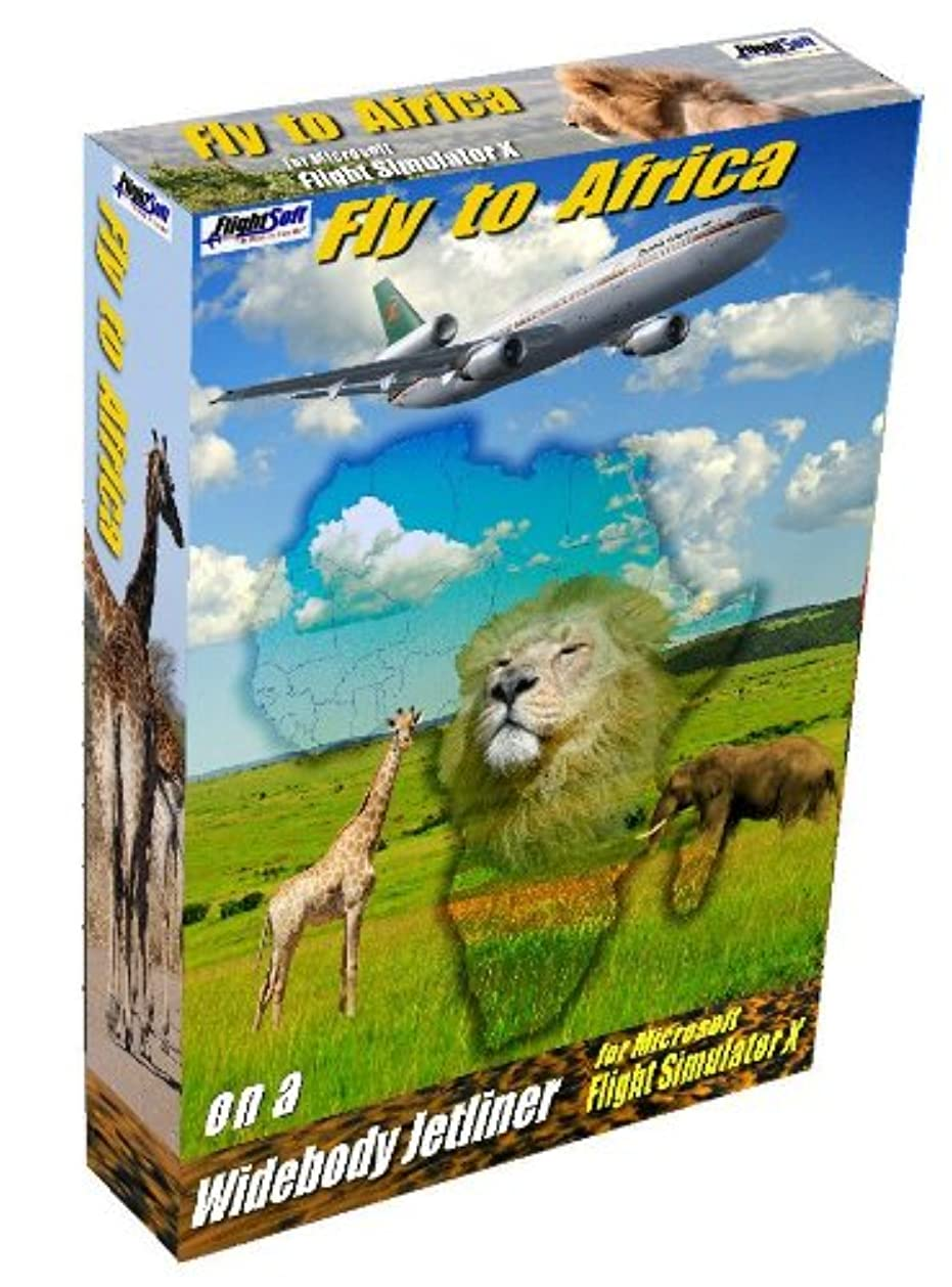 少なくとも異なる侵入Fly to Africa for Microsoft Flight Simulator X (輸入版)