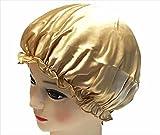 (ボナスティモーロ) Buona stimolo シルク 100% ナイトキャップ レディース 美髪 うるつや キープ (5:ゴールド)