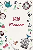 """2019 Planner: 6""""x9"""" Daily and Weekly Agenda Planner and Organizer V37"""
