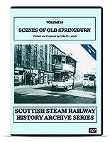オールドスプリングバーングラスゴークラシックとビンテージ蒸気機関車機関車DVDのイギリスのスコットランド鉄道の歴史