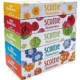 スコッティティシュー フラワーボックス 320枚(160組)5箱パック×12セット