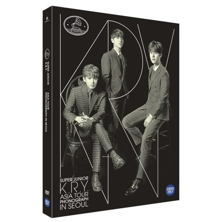 Super Junior - K.R.Y - Asia Tour Phonograph in Seoul (2DVD + フォトブック)