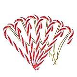 NALER クリスマスツリーオーナメントキャンディケーン 装飾 キャンディケイン デコレーション飾り12本