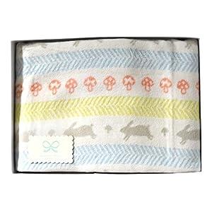 ホッペッタ Hoppetta ラパンラパン 綿毛布 ギフトセット 6301