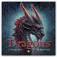 Dragons by Kerem Beyit Wall Calendar 2020 (Art Calendar)