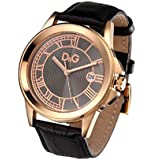 Dolce&Gabbana (ドルチェ&ガッバーナ)  D&G ドルガバ メンズ 腕時計 ZERMATT(ツェルマット) ゴールド × ブラック DW0628 [並行輸入品]