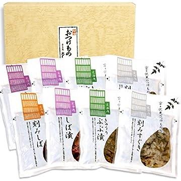 漬物ギフト 京つどい (京都 土産 京漬物8品セット:しば漬3種・刻みすぐき漬・きゅうり ぶぶ漬)