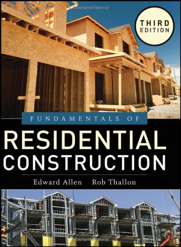 Download Fundamentals of Residential Construction (/) 0470540834