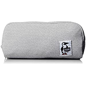 [チャムス] ポーチ Hurricane Pouch Sweat CH60-0631-A047-00 G009 H-Gray/Navy