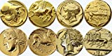 Greek Mythology Love Horses ?4有名なギリシャコインwith Horses 4hg
