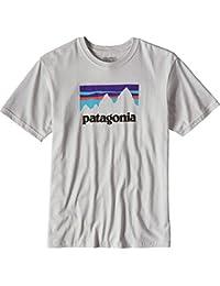 パタゴニア トップス Tシャツ Patagonia Shop Sticker T-Shirt - Short-S Tailored G 1fn [並行輸入品]