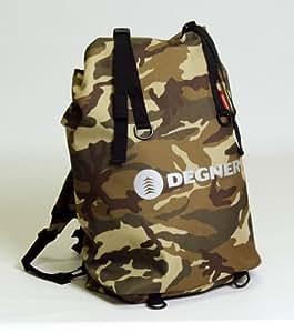 DEGNER(デグナー) マルチレインバッグ ポリエステル・PVC 50x30x18cm カモフラージュ NB-12