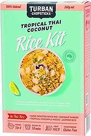 Turban Chopsticks Tropical Thai Coconut Rice Kit, 260 g