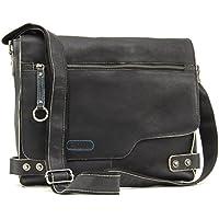Ashwood Messenger Bag - Cross Body/Shoulder/Work Bag - Genuine Leather - Camden 8353