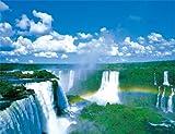 ジグソーパズル プチ2 500スモールピース イグアスの滝 (16.5cm×21.5cm、対応パネル:プチ2専用) / やのまん