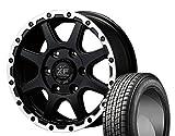 [205/70R15]GOODYEAR / ICE NAVI SUV スタッドレス [2/-][MANARAY SPORT / OFF PERFORMER XF117 (SGB) 15インチ] スタッドレス&ホイール4本セット ハイエース(100系 4WD)、グランドハイエース(10系)、グランビア(10系)