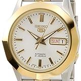 [セイコー]SEIKO SNKG84J1 セイコー5ドレス セイコー5/セイコーファイブ 自動巻き ゴールド メンズ腕時計 日本製 [逆輸入品]