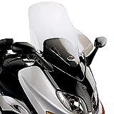 GIVI(ジビ)【イタリアブランド】  バイクエアロダイナミックスクリーン(D128ST) TMAX('01-'07) クリア 90123 高性能&スタイリッシュデザイン