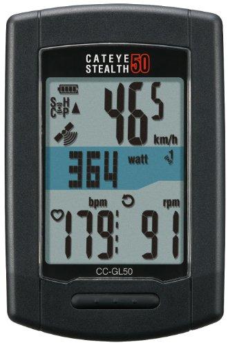 キャットアイ(CAT EYE) ステルス50 [CC-GL50] GPS ANT+対応 スピードセンサーレス