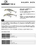 スミス(SMITH LTD) ミノー D-コンタクト タイプII 5g 50mm ヤマメ箔 #4 画像