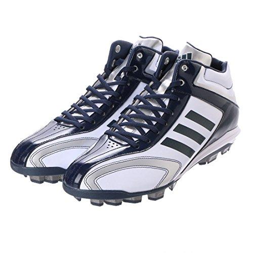 アディダス(adidas) アディピュアT3 MID ポイント(クリスタルホワイト/カレッジネイビー/クリスタルホワイ...