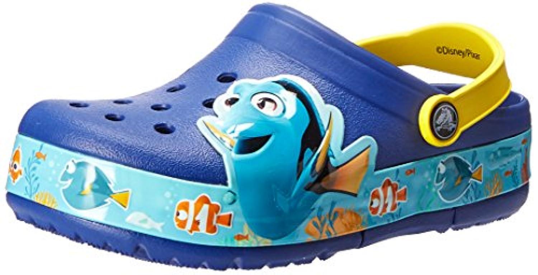 クロックス(クロックス) クロックスライツ ファインディング ドリー クロッグ キッズ crocslights Finding Dory clog kids 202881 サンダル (Jr)