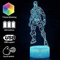 バトルバスゲーム 3Dランプ ムードランプ RGB 7色 光 熱気球 ナイトライト 誕生日 ホリデー デコレーションギフト