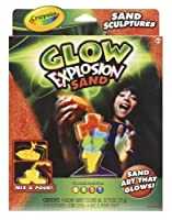 Glow Explosion Sand - Sand Art Deluxe -for boys