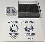 非売品 東京 2020 オリンピック パラリンピック エンブレム コラボ ピンバッジ