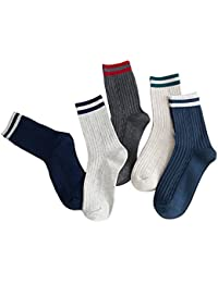 【5足セット】YECARRY 靴下 紳士 ショートソックス おしゃれ 通気性抜群 四季が通用する 夏 抗菌 防臭 25cm-28cm