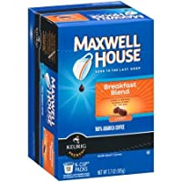 Maxwell House Breakfast Blend Coffee, Single Serve K-Cup (24 ct) [RETAIL PACKAGING]