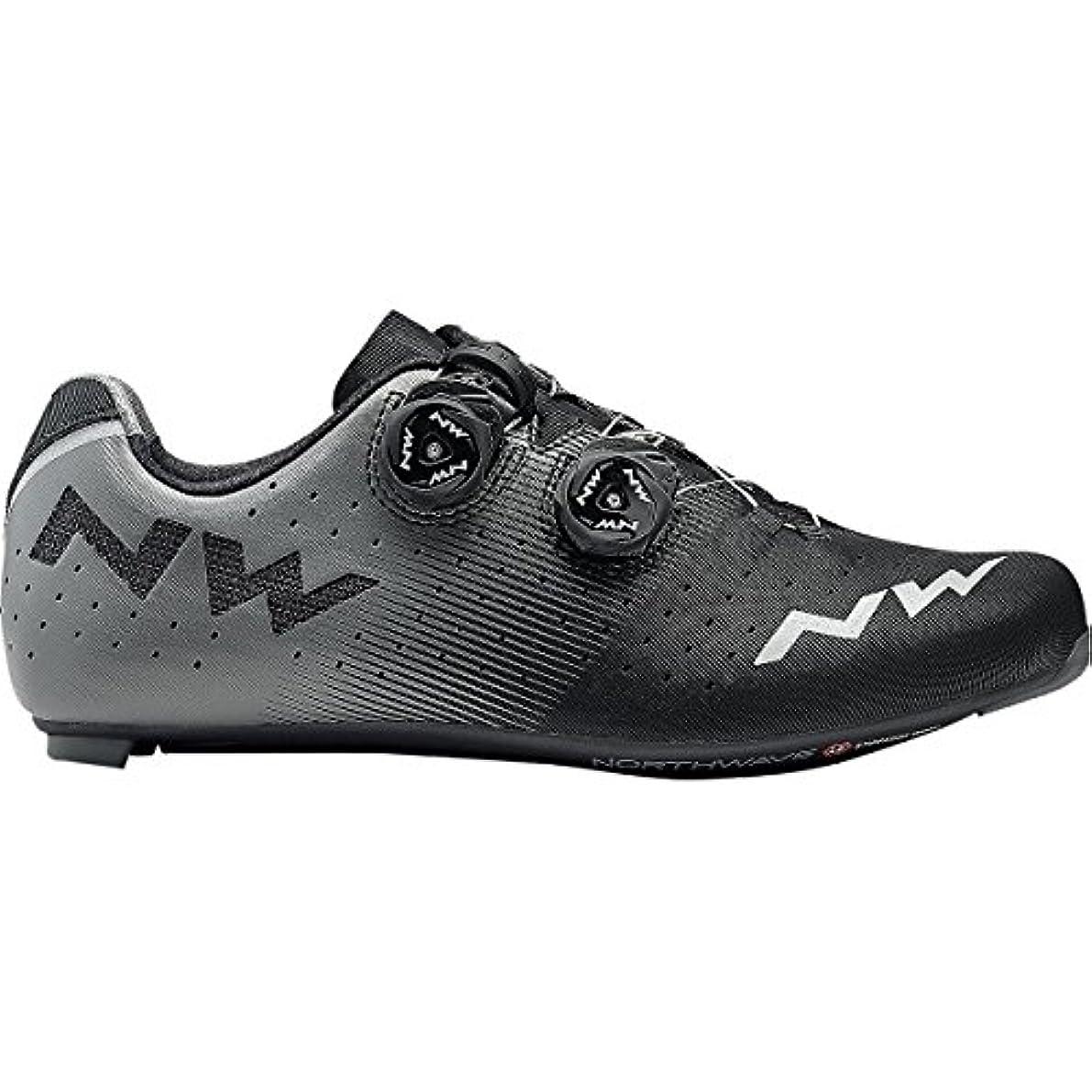 座標よろめく活性化ノースウェーブRevolution Cycling Shoe – Men 's Black / Anthracite、41.5