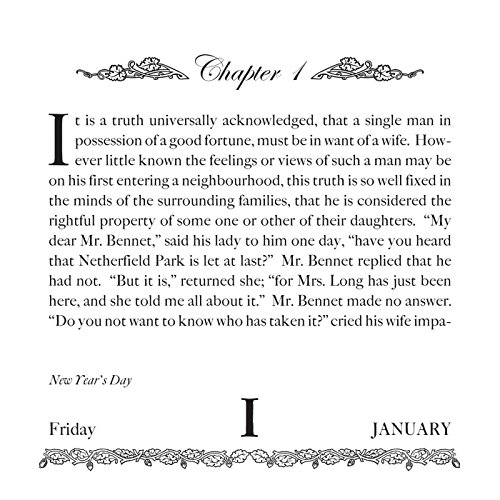 Pride and Prejudice 2016 Read a Book-in-a-Year Day-to-Day Calendar