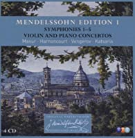 Mendelssohn: Symphony Nos. 1-5 / Violin Concertos / Piano Concertos by Katsaris (2009-03-09)