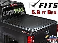 GatorTrax Retractable MX Tonneauトラックベッドカバー2014–2018年シボレーシルバラードGMC 5.8Ftベッド