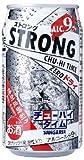 日本サンガリア ストロングチューハイタイムゼロドライ 缶 350ml×24本