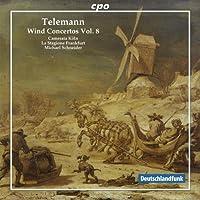 ゲオルク・フィリップ・テレマン:管楽のための協奏曲集 第8集