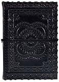 Leather Emboss Diary (11 Cm X16 Cmx 2.5 Cm)