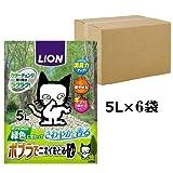 ポプラでニオイをとる砂 猫砂 5Lx6袋 (ケース販売)