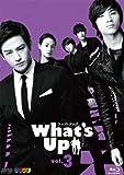 What's Up(ワッツ・アップ) ブルーレイ vol.3[Blu-ray/ブルーレイ]