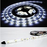 LEDテープライト 防水 24V 5m 幅10mm ホワイト 5050SMD×150発 トラック サイドマーカー 船舶用品 作業灯 白_21347