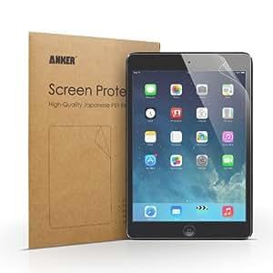 Anker 2枚セット iPad Mini/Mini2/Mini3用 液晶保護フィルム 高精細度 マット仕上げ 日本産 高品質PET素材使用 汚れ シミ防止加工
