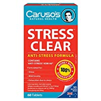 Carusos Natural Health Stress Clear 60 Tablets