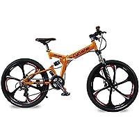 Extrbici RD100 自転車 マウンテンバイク MTB 折りたたみ シマノ24段変速 フルサスペンション 26インチ 通勤 通学 前後衝撃吸収 軽量